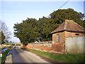 SU4572 : Gazebo at Winterbourne Farm by Des Blenkinsopp