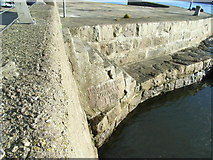 NJ9505 : Aberdeen Harbour Abercrombie Jetty by Keith Grinsted