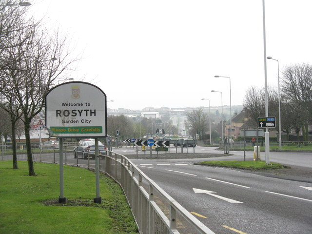 Kings Road [A985] at Rosyth