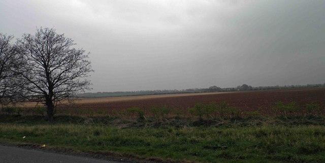 Lincolnshire farmland near RAF Scampton