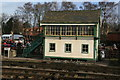 SK5415 : Great Central Railway - signal box Quorn & Woodhouse by Chris Allen