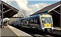 C9425 : Train, Ballymoney (April 2014) by Albert Bridge