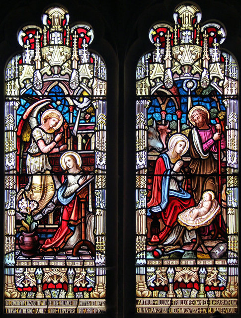St Mary, Little Wakering - Stained glass window
