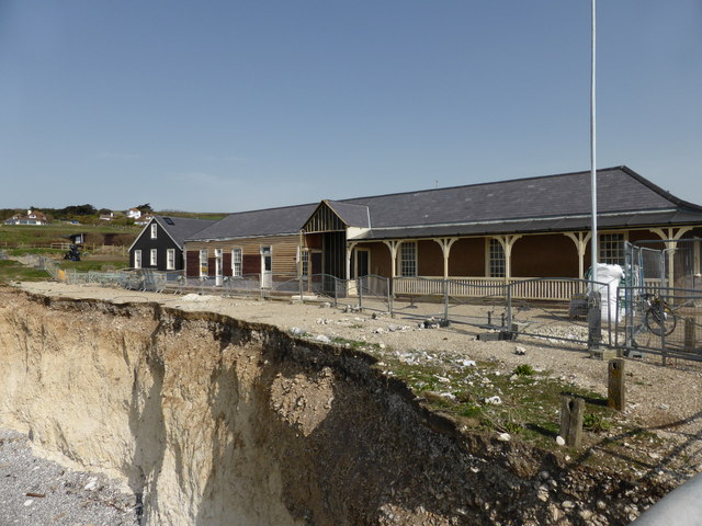 Cafe at Birling Gap
