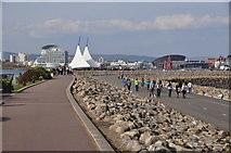 ST1972 : Cardiff : Wales Coast Path by Lewis Clarke