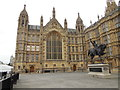 TQ3079 : Courtyard of Houses of Parliament by Paul Gillett