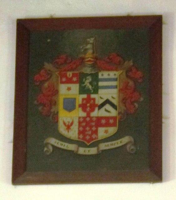 St. Giles Church, Chollerton - coat of arms