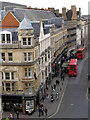 SP5106 : Magdalen Street from St Michael at the Northgate by Stephen Craven