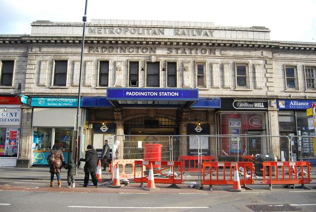 Paddington Underground Station C N Chadwick Geograph Britain And