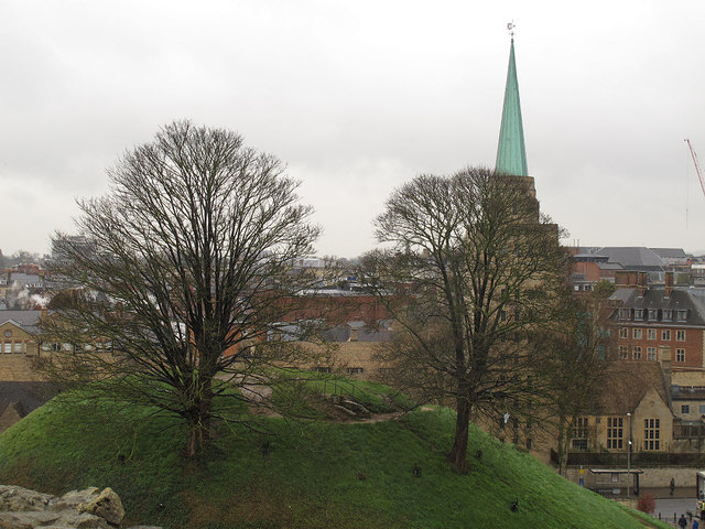 The Castle Mound, Oxford
