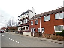 SE5613 : The Railway Public House, Askern by Bill Henderson