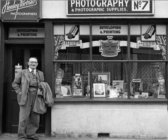 Henley Portraits, No. 7 Friday Street circa 1950