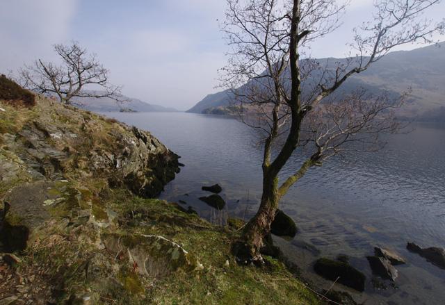 Ullswater shore