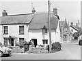 SS2203 : Cottages on the corner, Marhamchurch, 1966 by Robin Webster