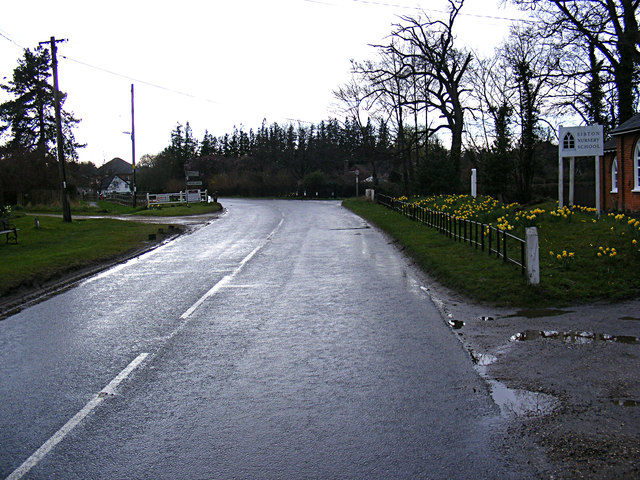 A1120 Yoxford Road, Sibton