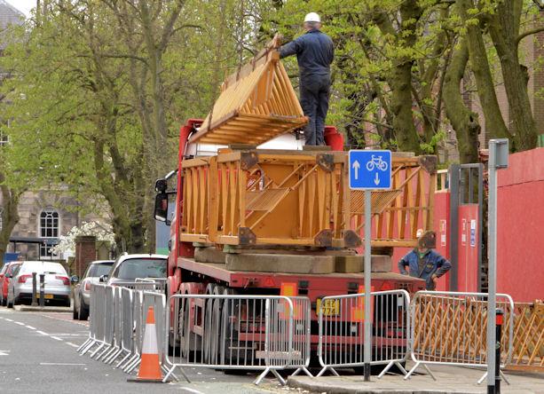 Building site crane, Belfast