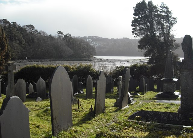 View across Church Island