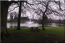 S1071 : Templemore Town Park Lake by Hywel Williams