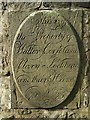 NS4864 : Paisley High Kirkyard: Corse/Lochhead stone by Lairich Rig