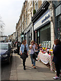 TQ2784 : Regent's Park Road, Primrose Hill. NW3 by Kate Jewell