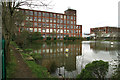 SD7306 : Cobden Mill, Moses Gate, Bolton by Chris Allen