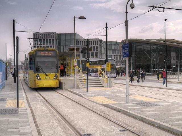 Rochdale Town Centre Metrolink Stop