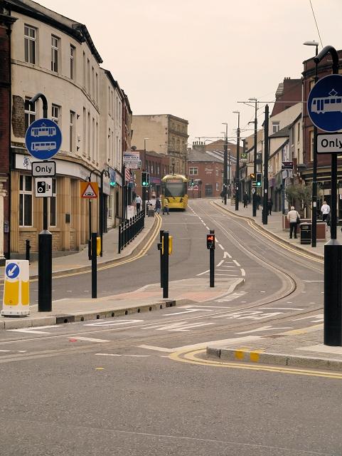 Metrolink Tramway, Drake Street