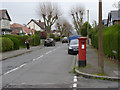 SK5237 : Marlborough Avenue postbox ref NG9 609 by Alan Murray-Rust