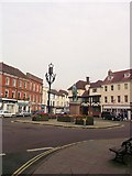 SU3521 : Market Place Romsey by John Firth