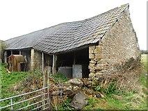 SO9700 : Barn at Coatesfield Bridge by Anthony Parkes