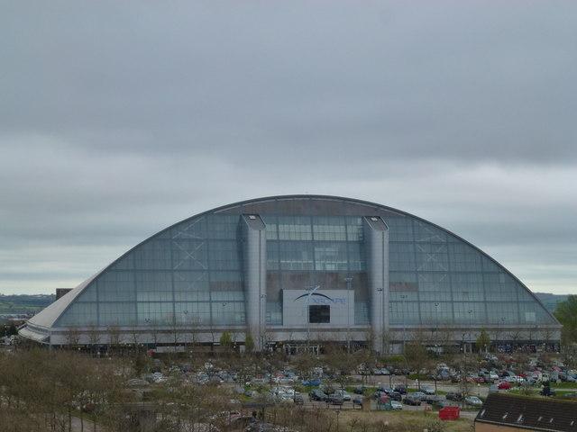 The Xscape building in Central Milton Keynes