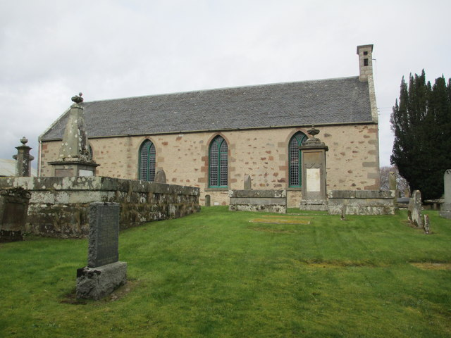 Croy Church of Scotland by Jennifer Jones