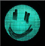 NT4836 : A happy traffic light by Walter Baxter
