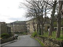 SE1614 : Northfield Mills, Almondbury Common by John Slater