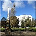 SP3165 : Obelisk to Edward Willes Esq., Jephson Gardens, Royal Leamington Spa by Robin Stott