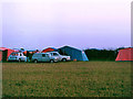 SW7954 : Camping at New Perran Holiday Park, 1968 by Robin Webster