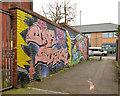 J3375 : Graffiti, Belfast (April 2014) by Albert Bridge