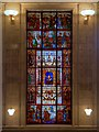 SJ8397 : Shakespeare Window, Manchester Central Library by David Dixon