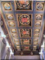 SJ8397 : Manchester Central Library, Shakespeare Hall (Ceiling) by David Dixon