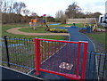 SK5701 : New play area along Granby Road by Mat Fascione