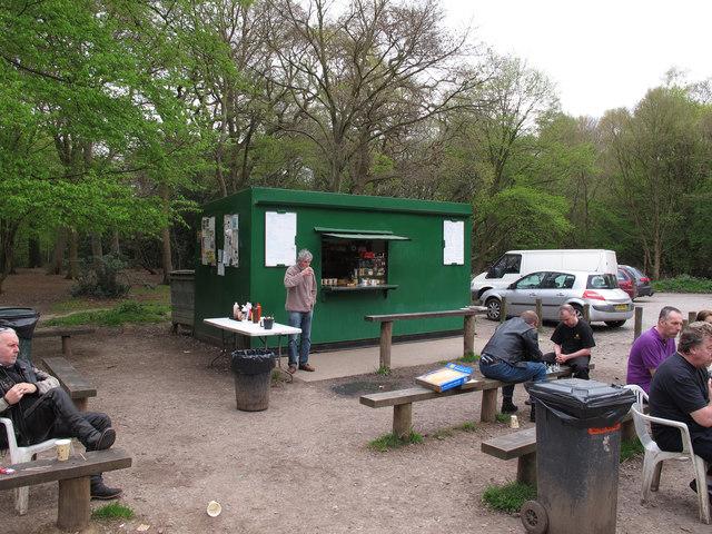 Biker S Tea Hut Near Robin Hood C Roger Jones Geograph