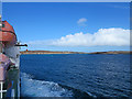 NM2256 : View from Calmac ferry Clansman approaching Coll by William Starkey