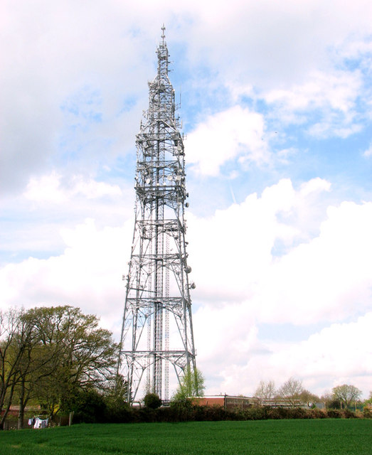 Radio transmitter off Stoke Road