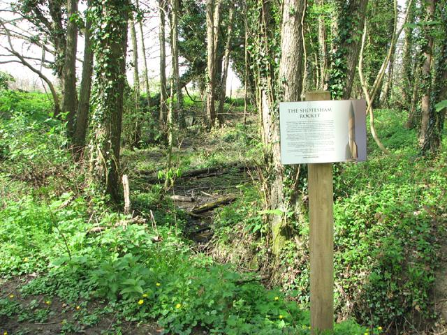 v2 rocket crash site evelyn simak geograph britain and ireland