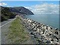 SH7276 : Penmaenmawr promenade ahead by Steve  Fareham