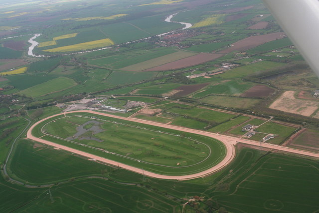 Southwell Racecourse: aerial 2014