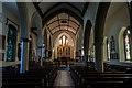 TQ4110 : Interior, St Michael-in-Lewes by Julian P Guffogg