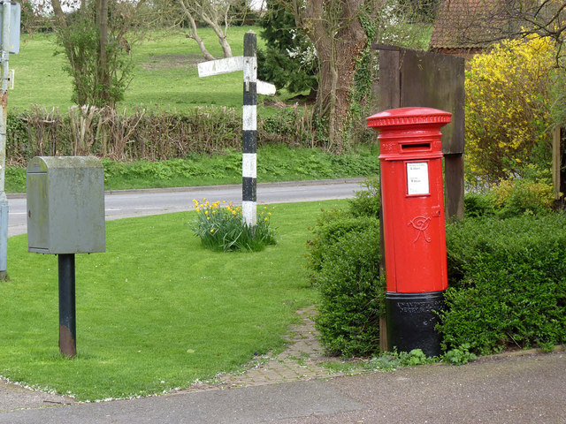 Orston postbox ref NG13 326