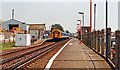 TQ2805 : Aldrington station, 1990 by Ben Brooksbank