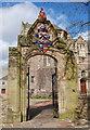NJ9308 : Mock-Gothic arch, University of Aberdeen by Bill Harrison